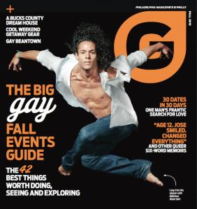 G Philly magazine, Fall 2013