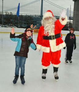 Dockside_Skate with Santa_Waterfront Winterfest2013