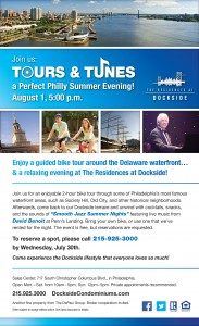 Dockside Tours & Tunes eblast