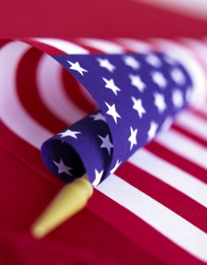 American Flag --- Image by © Royalty-Free/Corbis