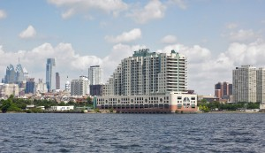 TheResidencesatDockside_Phila skyline