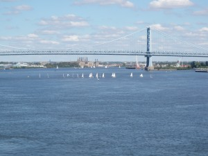 Dockside_Philadelphia's best views_River view with sailboats