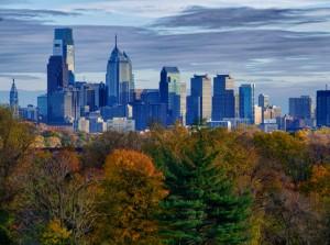 Dockside_Philadelphia in Autumn by Ralph Ferro