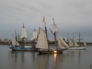Dockside_ships on Delaware