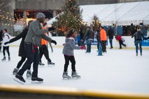 Dockside RiverRink skating