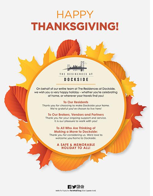 Dockside Thanksgiving