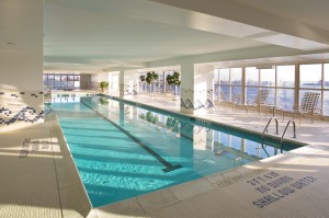 Residences at Docksde indoor pool