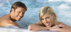 Dockside_hot tub couple