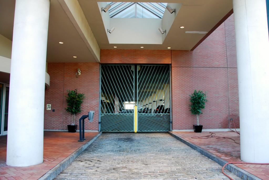 Dockside Gated Parking Entry