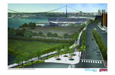 Dockside_Del River Trail render-penn-street-south-perspective-10-25-12-press.one-third