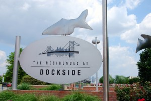 Dockside Fish Sign