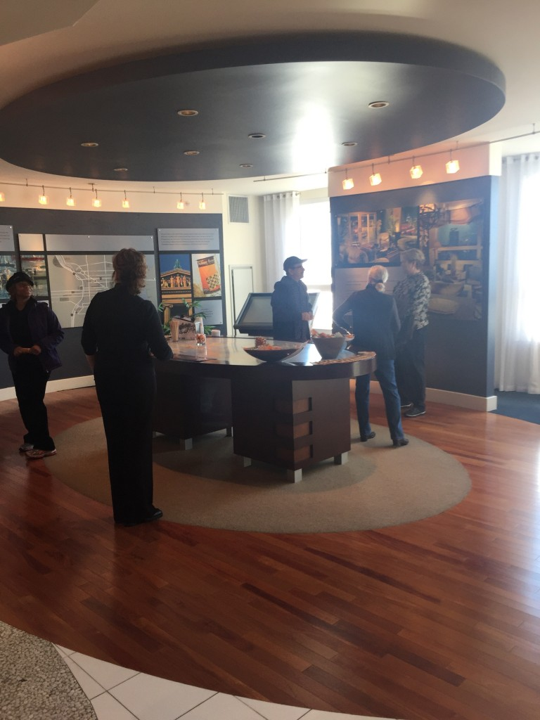 Dockside River walking tour_Sales Office_2015