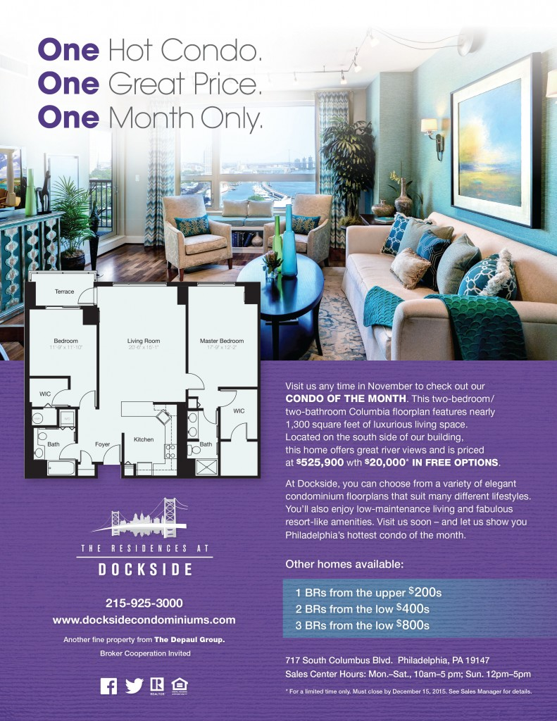 Dockside Condo of the Month