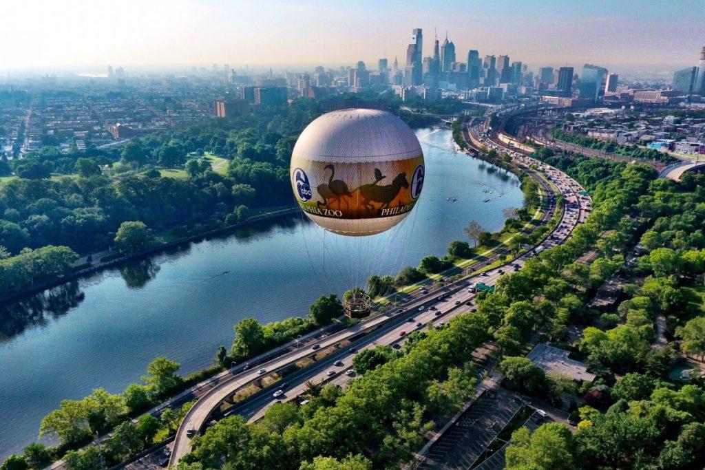 Philly hot air balloon