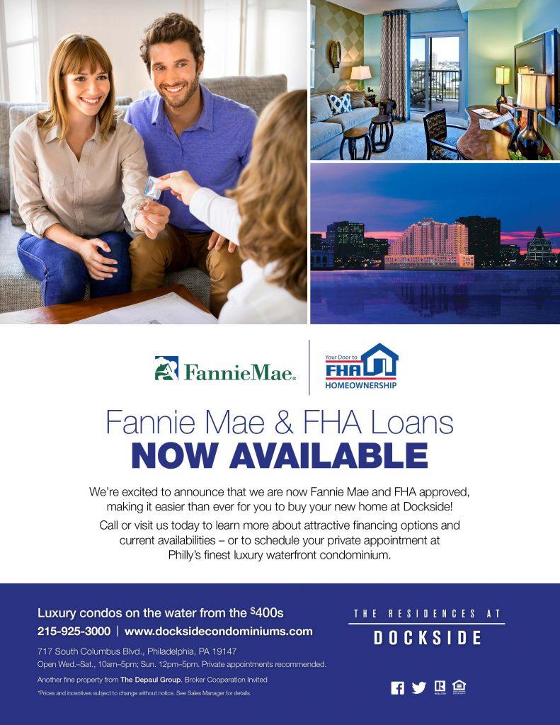 Dockside Blog_FannieMae-FHA Financing Announcement_Buy at Dockside