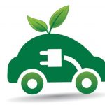 Dockside car chargers_electric vehicle green icon