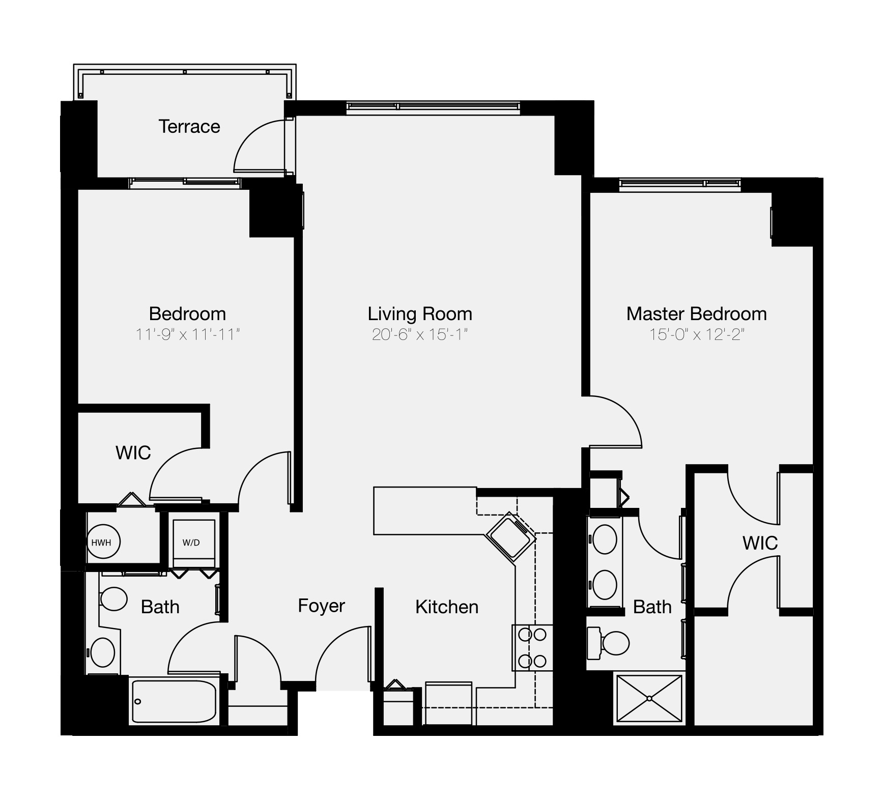 The Residences of Dockside two-bedroom condo for sale in Philadelphia