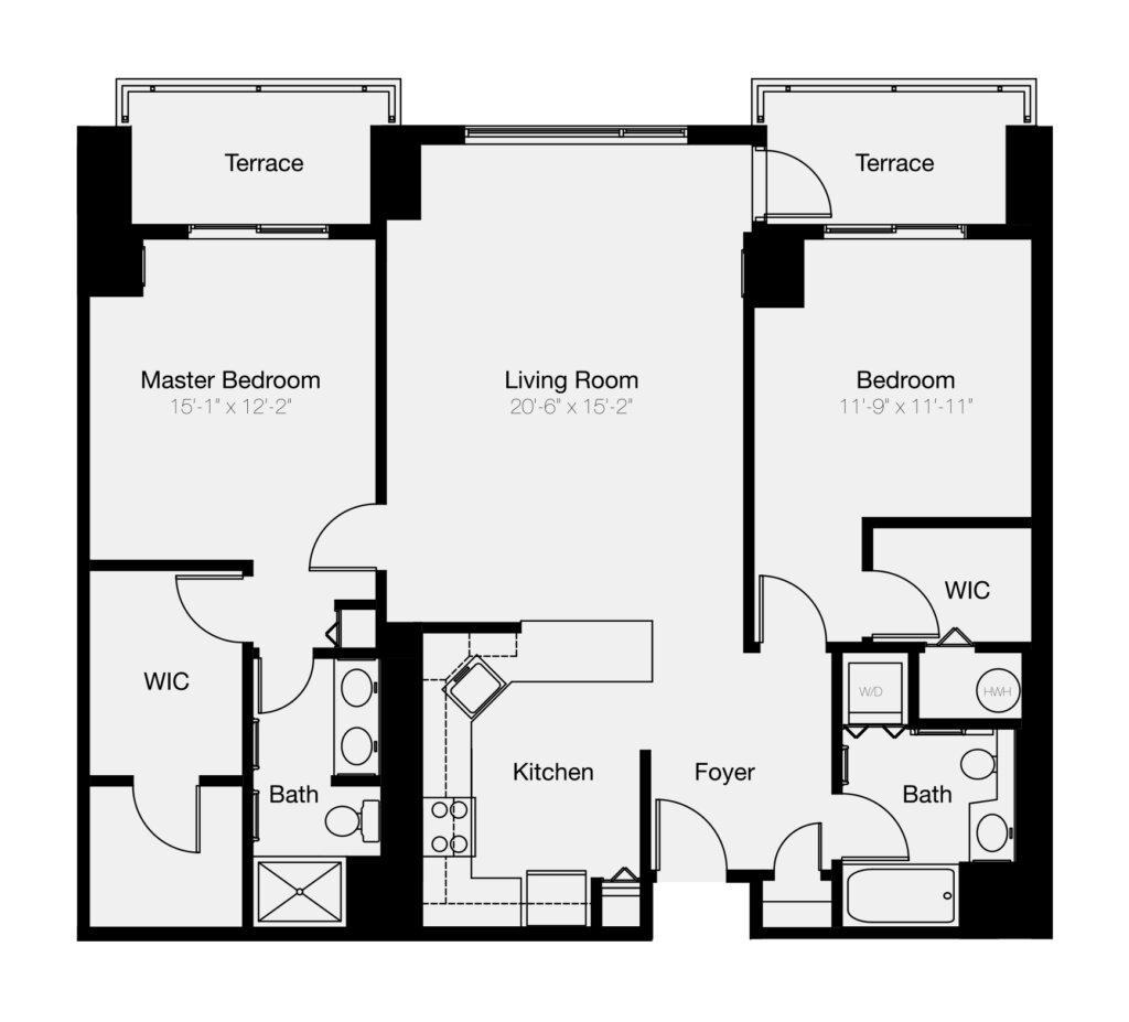 2- & 3-Bedroom Philadelphia Condos | Residences at Dockside
