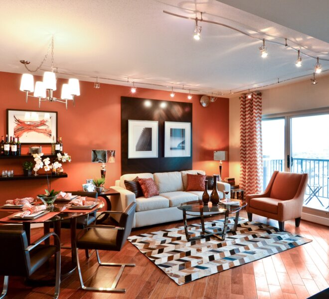 Interior of The Residences of Dockside Philadelphia condos for sale