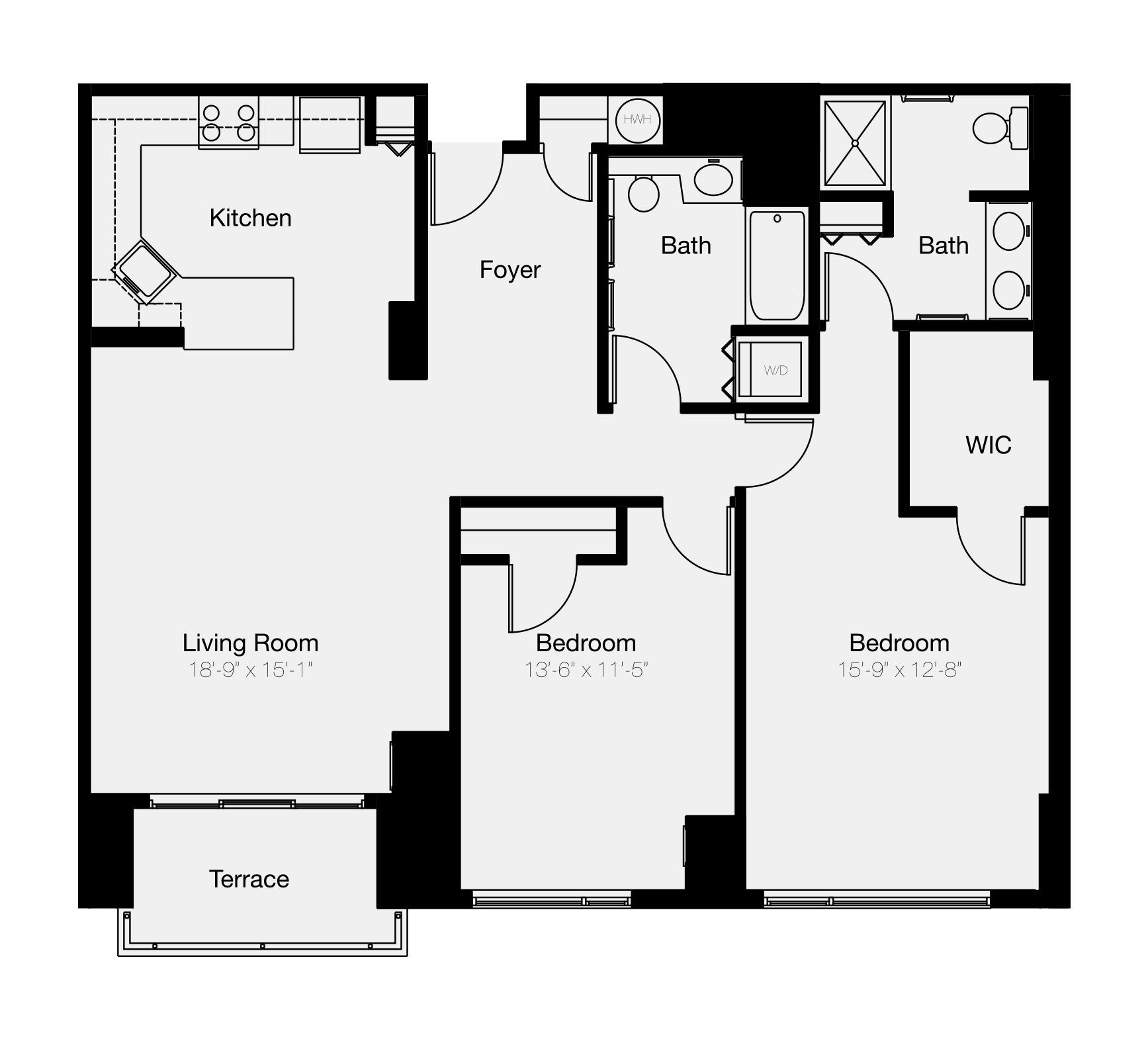 2- & 3-Bedroom Philadelphia Condos