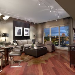 Interior of condo for sale in Center City, Philadelphia