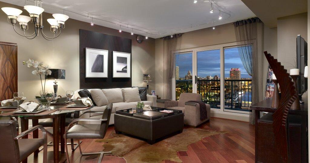 Interior of condo for sale in Center City, Philadelphia