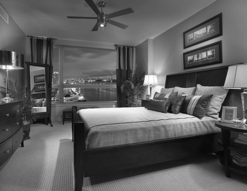Bedroom at Luxury Condos at Dockside