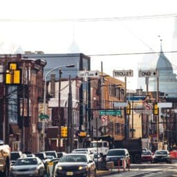 Fishtown Street View on Girard Ave in Philadelphia, PA