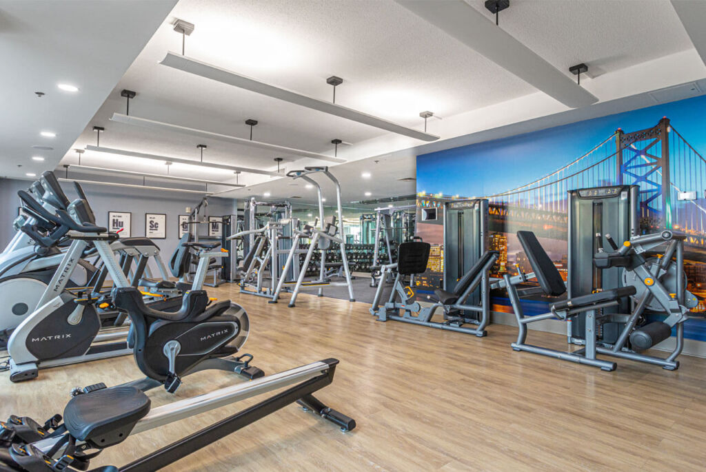 The Fitness Center at The Residences at Dockside