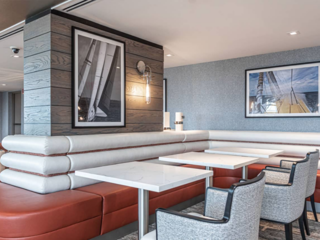 nautical inspired clubhouse at The Residences at Dockside