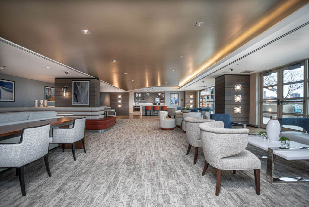 The Clubroom at The Residences at Dockside